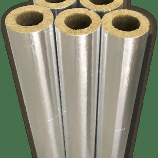 Минераловатные цилиндры кашированные алюминиевой фольгой